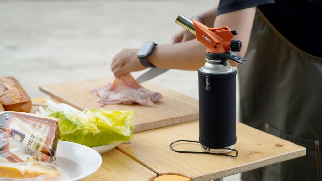 O-Grill Torch Jet Lighter Butane Camping BBQ Barbecue Professional Culinary Outdoor Portable RV Camping Butane